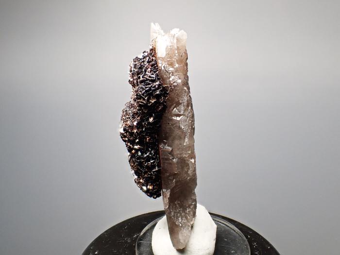 コロラド産スモーキークォーツ&ゲーサイト (Smoky Quartz & Goethite/ Colorado)-photo2