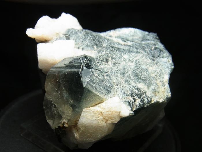 ザギマウンテンクォーツ、リーベカイト&アルバイト (Zagi Mountain Quartz, Riebeckite & Albite)-photo3
