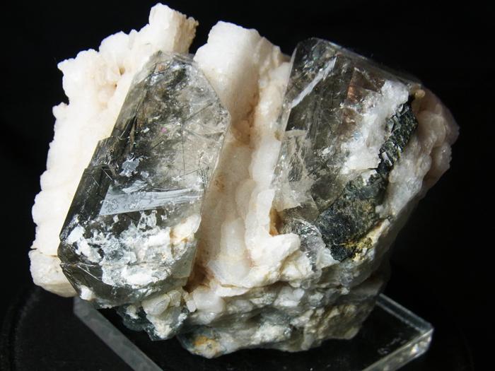 ザギマウンテンクォーツ、リーベカイト&アルバイト (Zagi Mountain Quartz, Riebeckite & Albite)-photo8