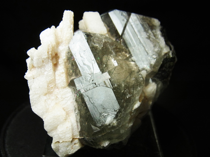 ザギマウンテンクォーツ、リーベカイト&アルバイト (Zagi Mountain Quartz, Riebeckite & Albite)-photo14