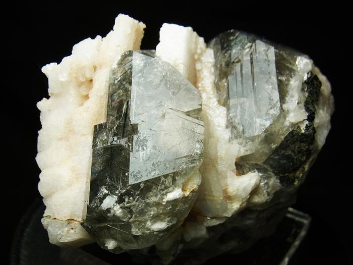 ザギマウンテンクォーツ、リーベカイト&アルバイト (Zagi Mountain Quartz, Riebeckite & Albite)-photo15