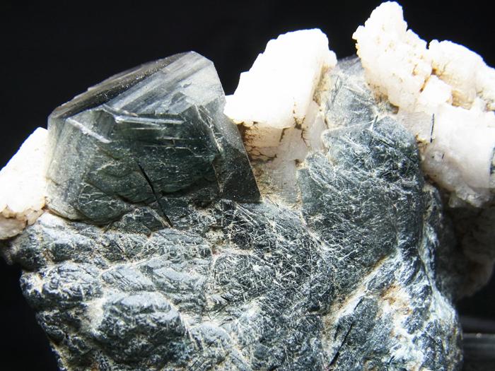 ザギマウンテンクォーツ、リーベカイト&アルバイト (Zagi Mountain Quartz, Riebeckite & Albite)-photo37