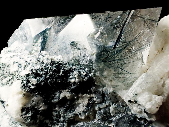 ザギマウンテン産クォーツ&リーベカイト (Quartz & Riebeckite / Zagi Mountain)-photo13