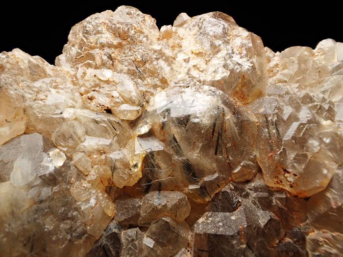 ザギマウンテン産クォーツ、アストロフィライト&リーベカイト (Quartz, Astrophyllite & Riebeckite / Zagi Mountain)-photo9