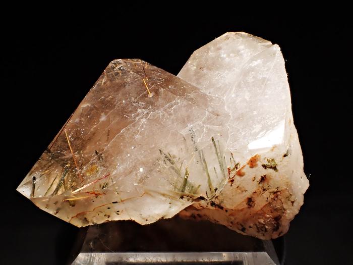 ザギマウンテン産クォーツ、アストロフィライト&エジリン (Quartz, Astrophyllite & Aegirine / Zagi Mountain)-photo0