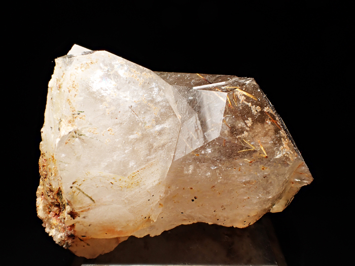 ザギマウンテン産クォーツ、アストロフィライト&エジリン (Quartz, Astrophyllite & Aegirine / Zagi Mountain)-photo4