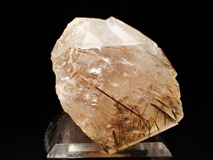 ザギマウンテン産クォーツ、アストロフィライト&エジリン (Quartz, Astrophyllite & Aegirine / Zagi Mountain)-photo6