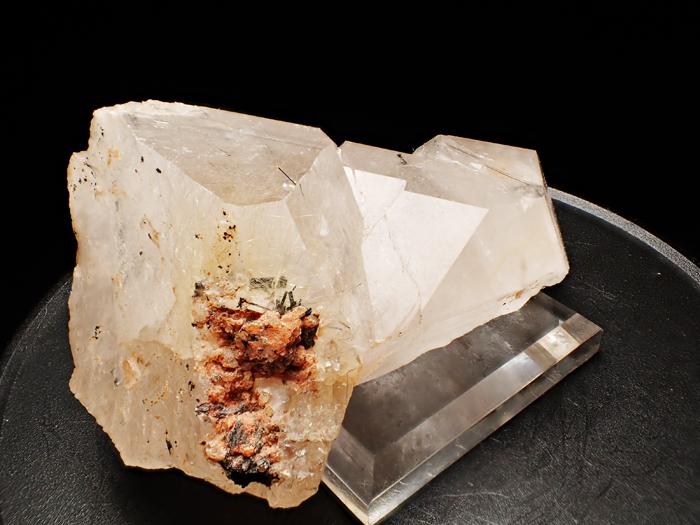 ザギマウンテン産クォーツ、アストロフィライト&リーベカイト (Quartz, Astrophyllite & Riebeckite / Zagi Mountain)-photo4