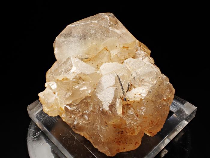 ザギマウンテン産クォーツ、アストロフィライト&リーベカイト (Quartz, Astrophyllite & Riebeckite / Zagi Mountain)-photo1