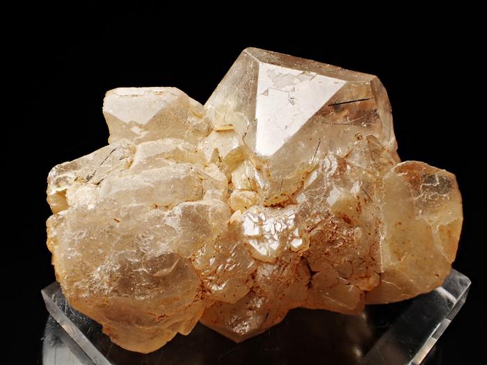 ザギマウンテン産クォーツ、アストロフィライト&リーベカイト (Quartz, Astrophyllite & Riebeckite / Zagi Mountain)-photo3